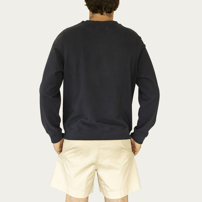 Midnight Created From Waste Classic Sweatshirt | Bombinate
