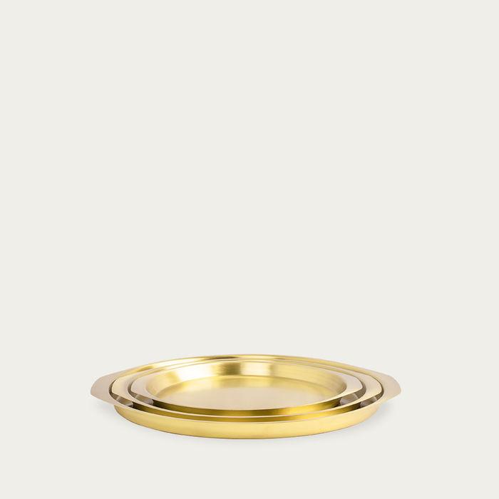 Brass Sama Tray | Bombinate