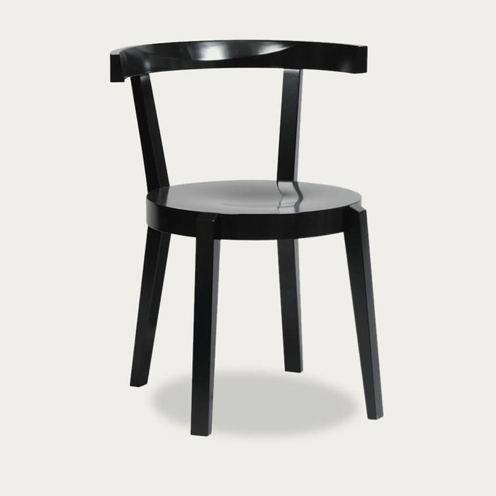 Black Grain Chair Punton   Bombinate