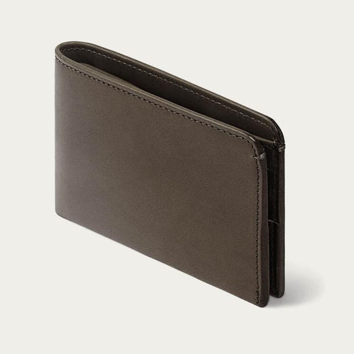 Fango-Brown Amwell Leather Bifold Wallet | Bombinate