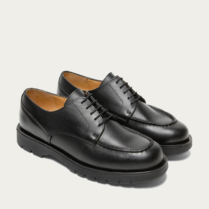 Black Frodan Leather Derby   Bombinate