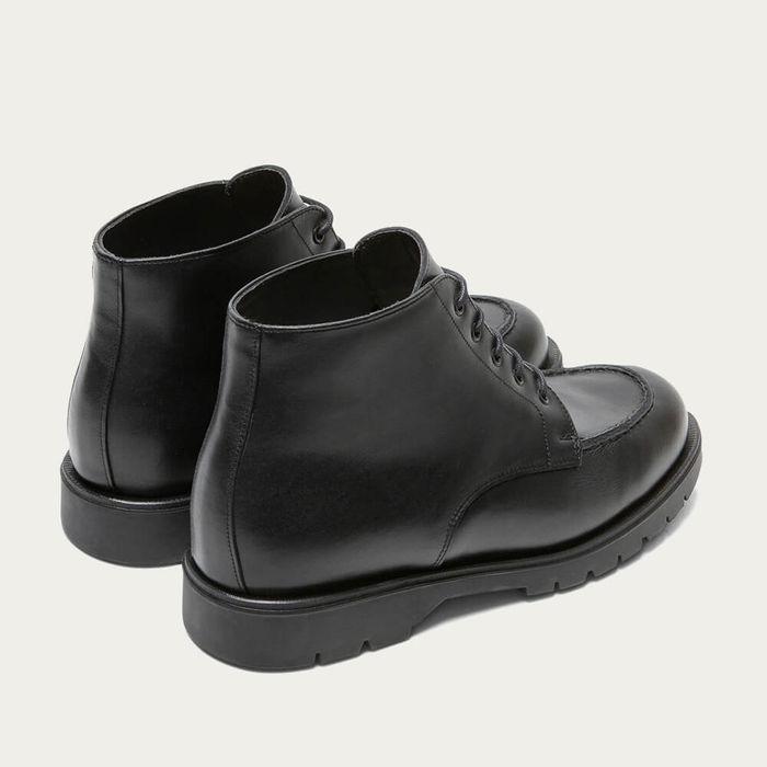 Black Oxal KP Derby Shoes | Bombinate