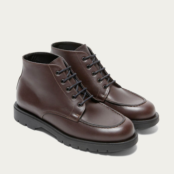 Brown Oxal KP Derby Shoes   Bombinate