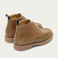 Khaki Oxal KP Derby Shoes | Bombinate