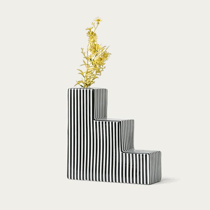 Stripes Stair Vase   Bombinate