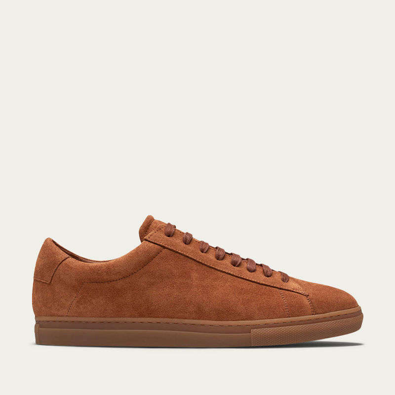 Brick Suede Low Sneakers | Bombinate