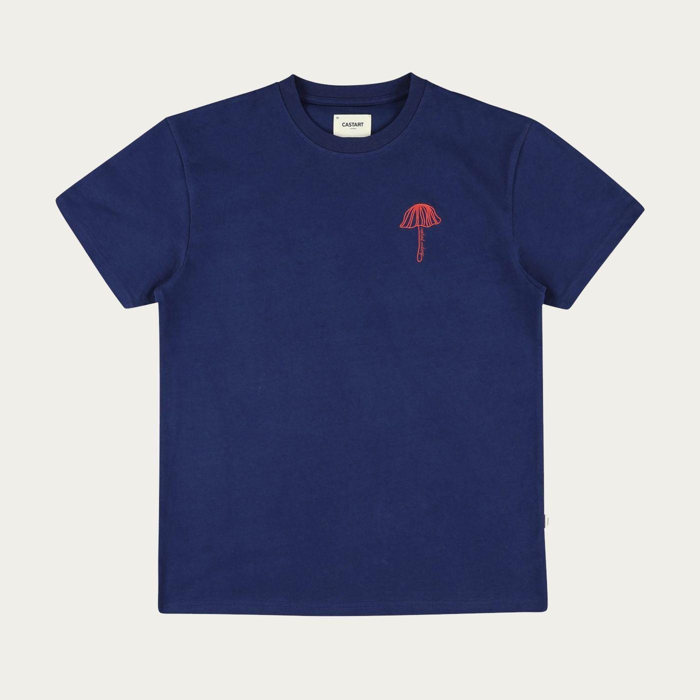 Blue Castart T-Shirt | Bombinate