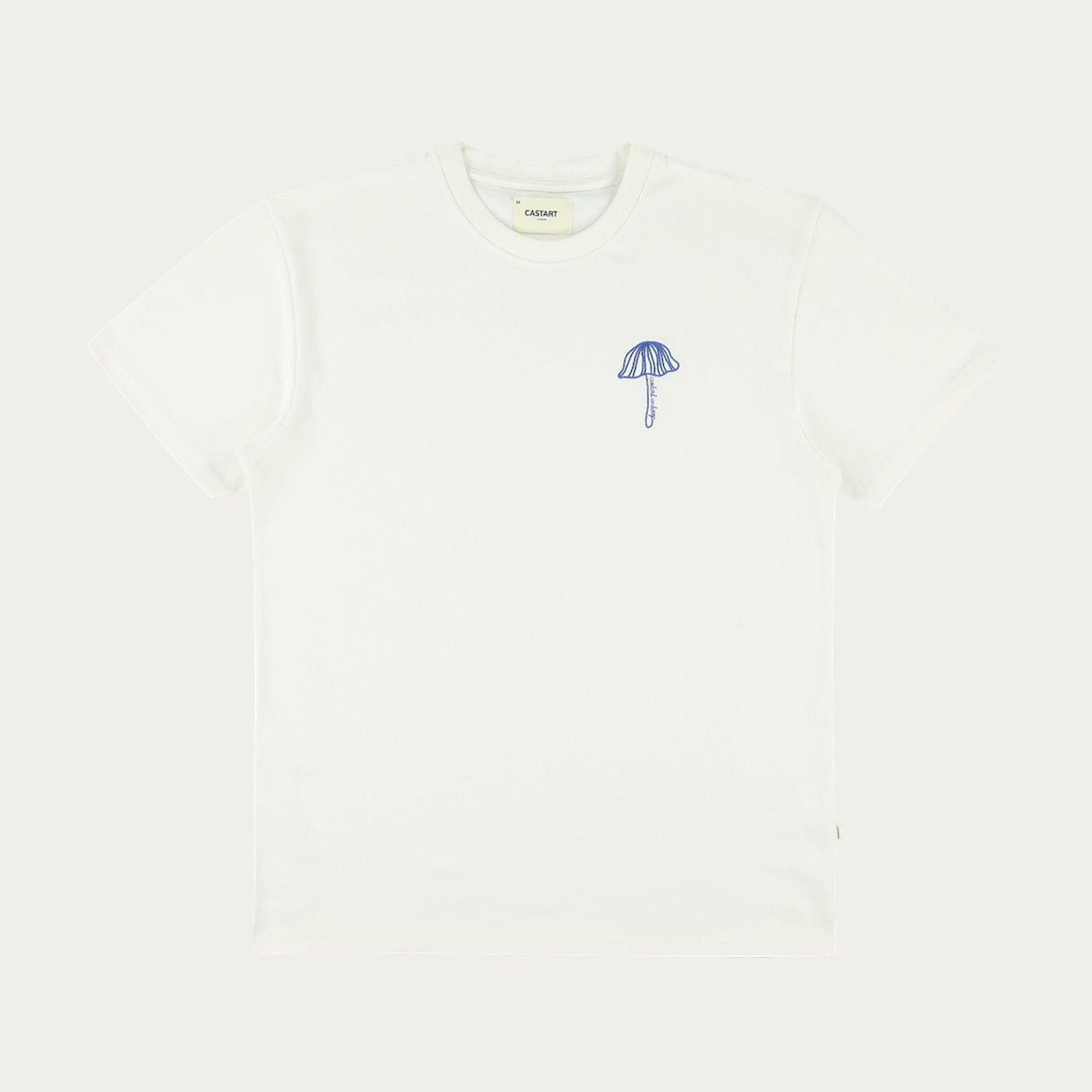 White Castart T-Shirt   Bombinate