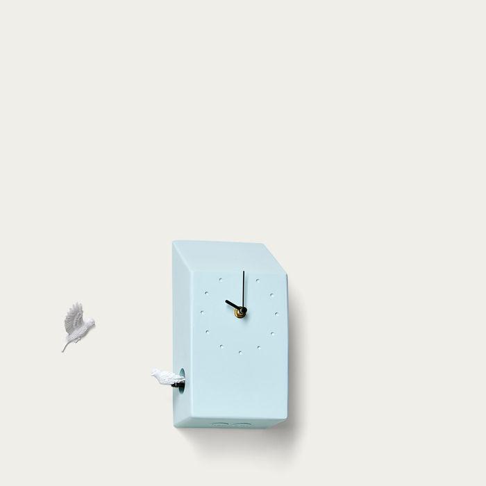 Blue Cuckoo Home Clock | Bombinate