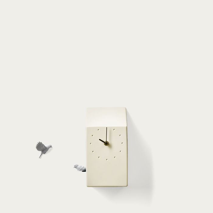 Yellow Cuckoo Home Clock | Bombinate