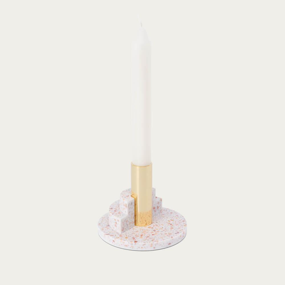 White Ply Candle - The Perfect Layer   Bombinate