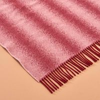 Burgundy and Blush Tide Blanket | Bombinate