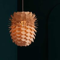 Oak Zappy Small Lamp  | Bombinate