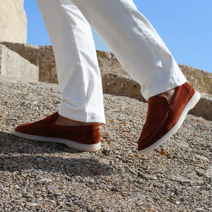 Sienna Suede Yacht Loafer   Bombinate