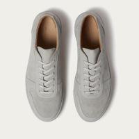 Grey Suede Series 6 Sneakers   Bombinate