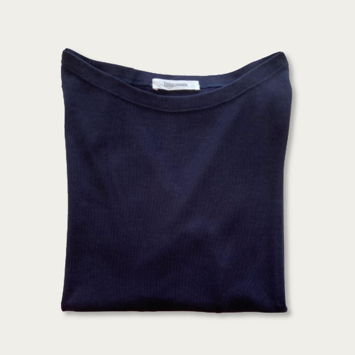 Blue Titta Cotton T-shirt | Bombinate