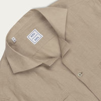 Camicia Ischia Sabbia Shirt | Bombinate