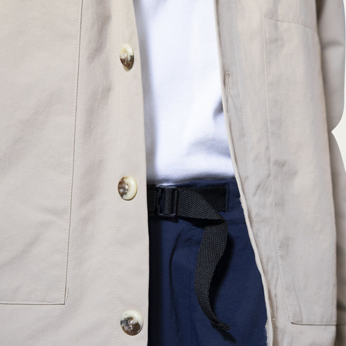 Beige Spring Jacket | Bombinate
