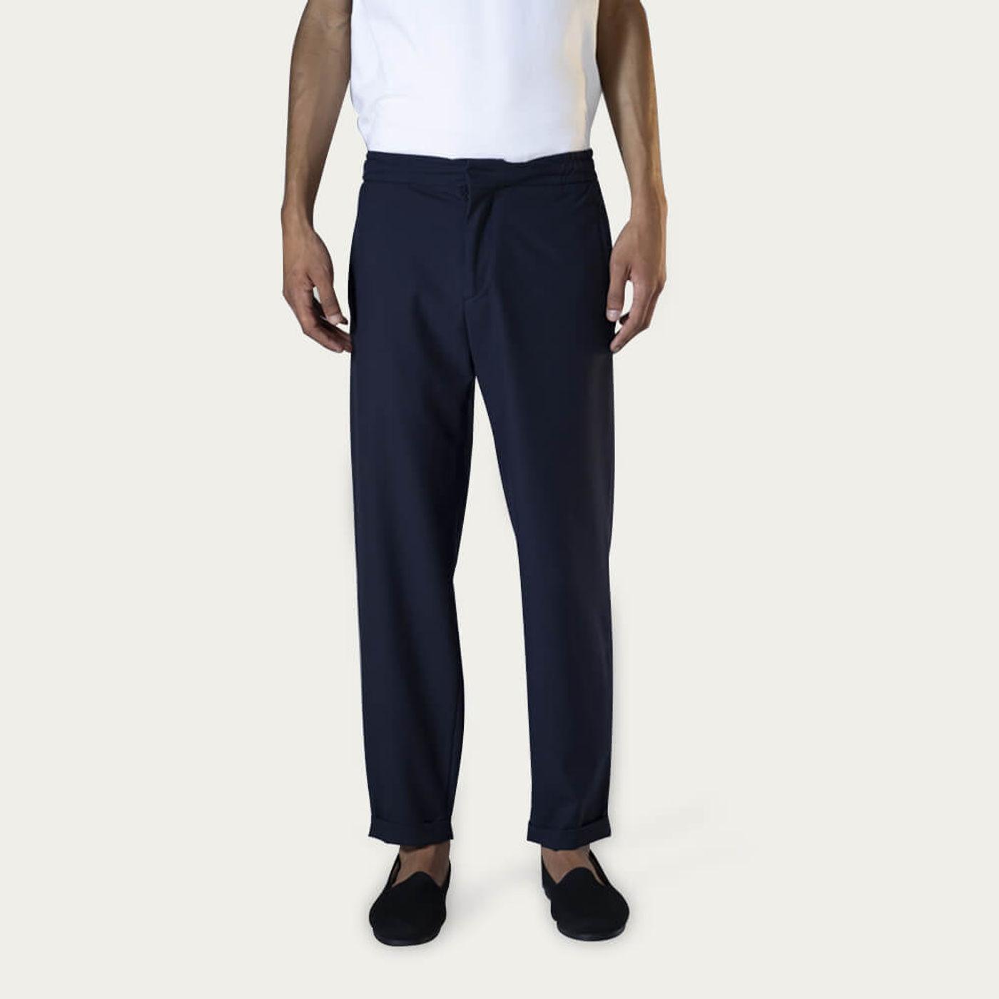 Navy Tailor Pants | Bombinate