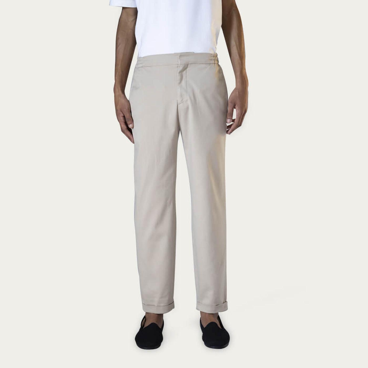 Beige Tailor Pants | Bombinate