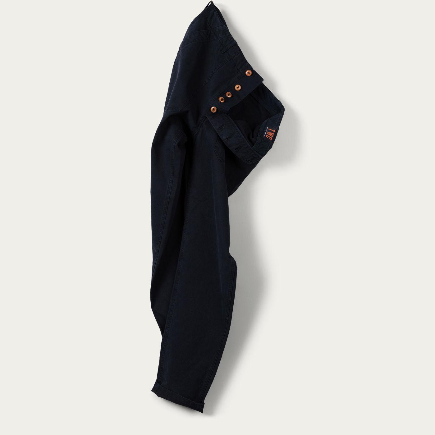 Navy Coton Chino    Bombinate