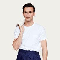 White Pocket Short Sleeve Tee  | Bombinate