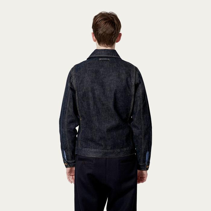 Indigo Wash Denim Jacket  | Bombinate