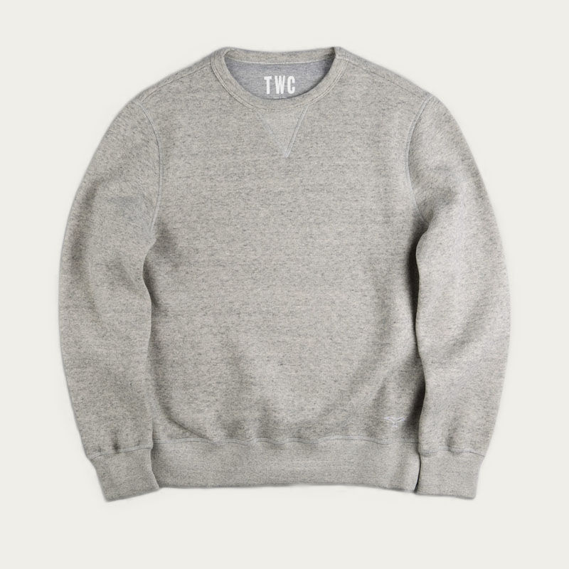 Grey Marl Sweatshirt  | Bombinate