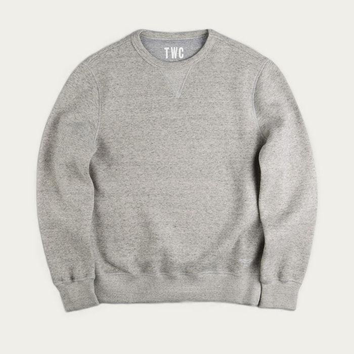 Grey Marl Sweatshirt    Bombinate
