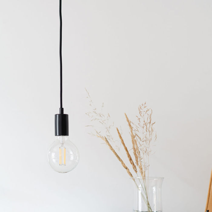 Black Muka 1-Pendant Light | Bombinate
