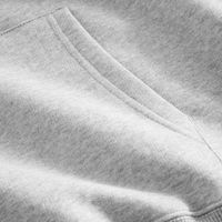 Light Grey Melange   Bison Hoodie | Bombinate