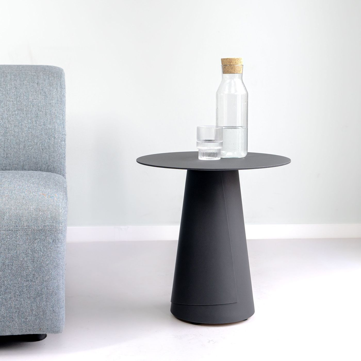 Anthracite Wrap Side Table | Bombinate
