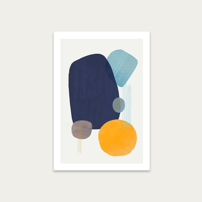 Oceana No.3 Art Print Unframed | Bombinate