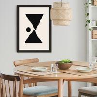 Roche Art Print Black Frame   Bombinate