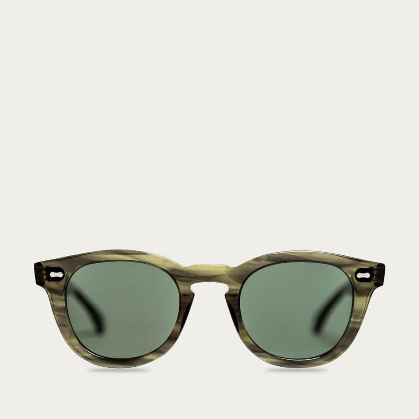 Eco Green /Bottle Green Donegal Sunglasses | Bombinate