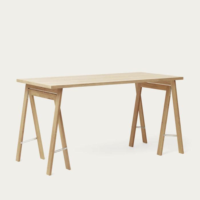 White Oak Linear Tabletop 125 x 68 | Bombinate