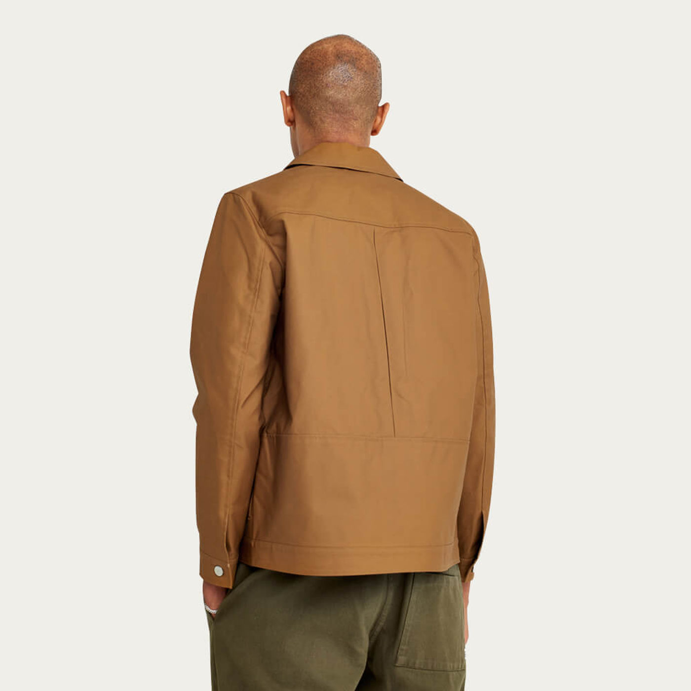 Dark Mustard Zappa Cotton Jacket | Bombinate