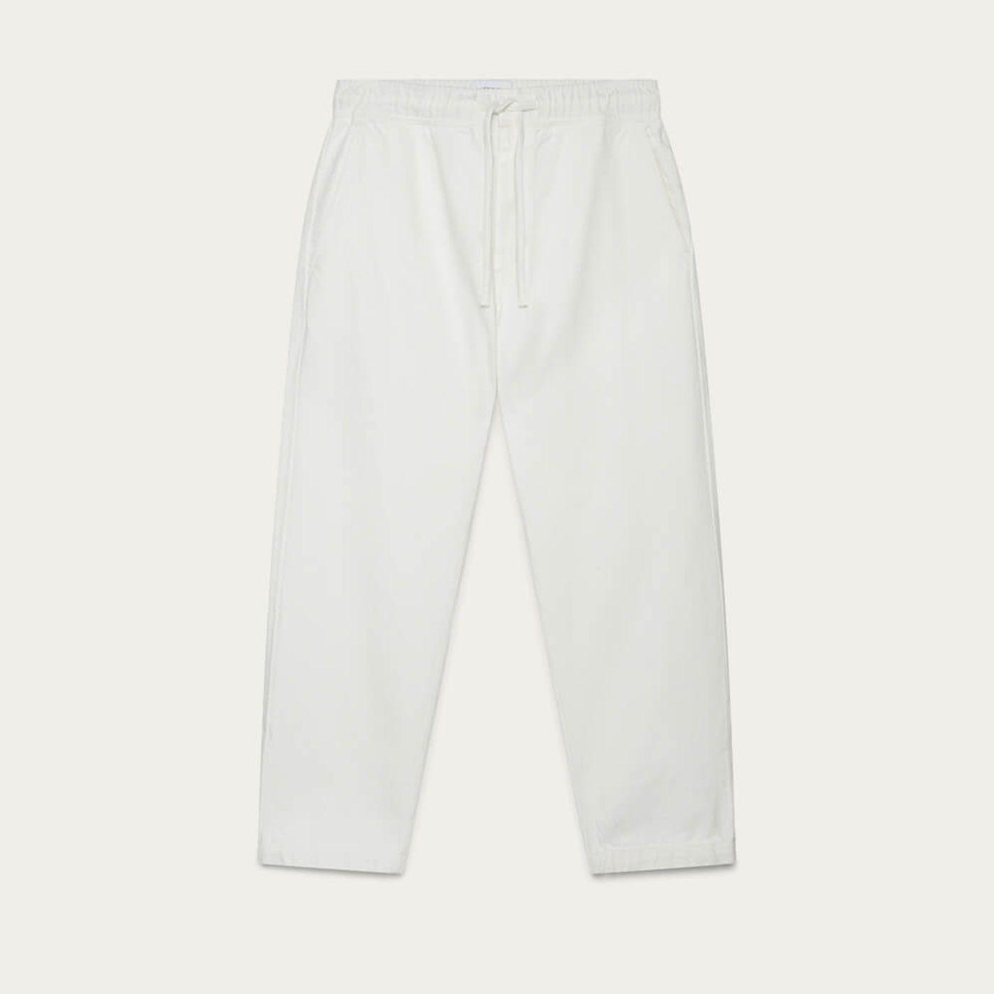 White Kurt Denim Trouser | Bombinate