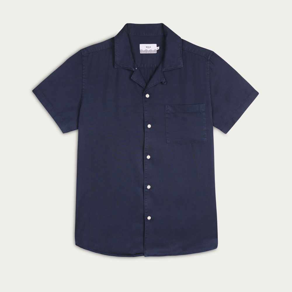 Deep Ocean Fazely Casual Short Sleeve Shirt  | Bombinate