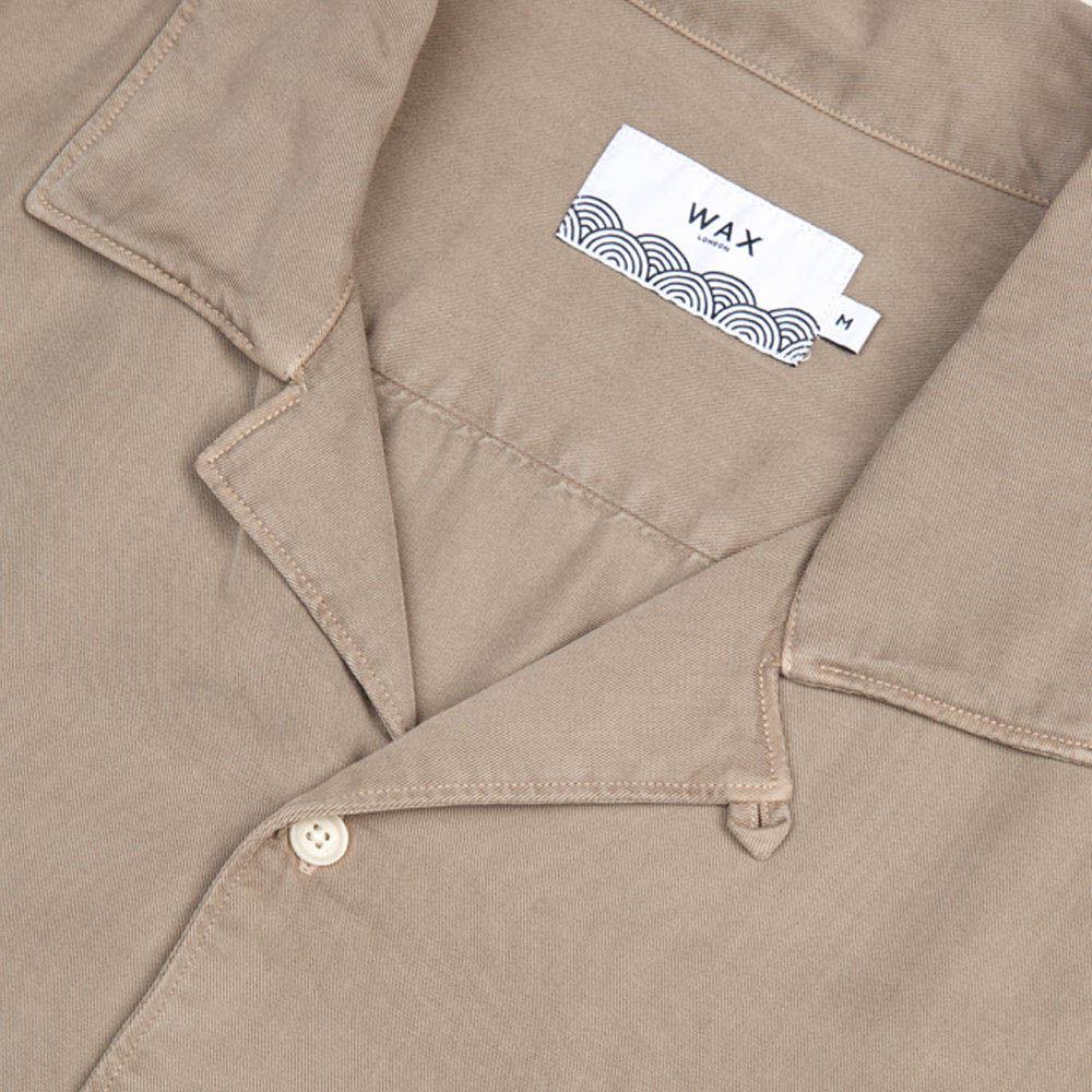 Sand Fazely Casual Short Sleeve Shirt  | Bombinate