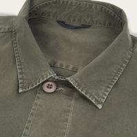Vintage Green Mayhew Overshirt    Bombinate