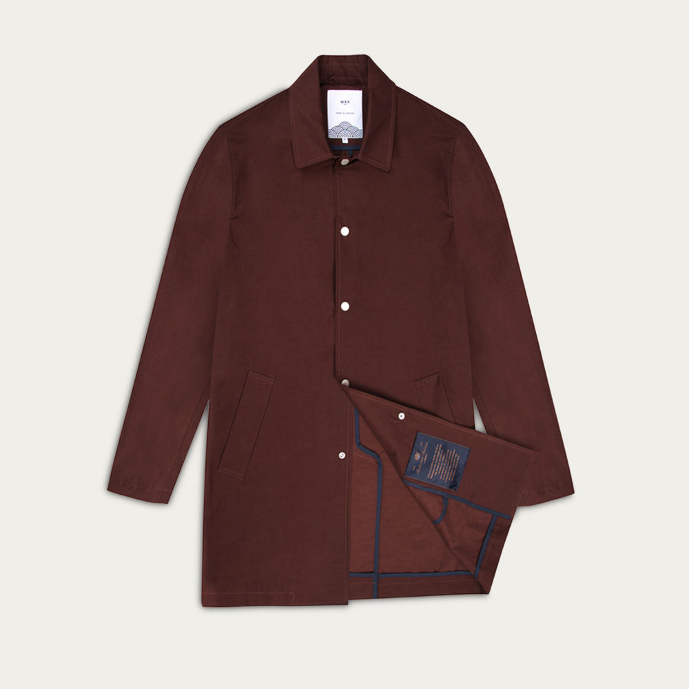 Merlot Navarino Waxed Mac 2.0  | Bombinate