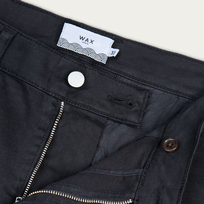 Black Strood Chinos | Bombinate