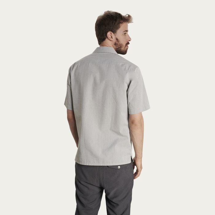 Seersucker Short Sleeve Shirt  | Bombinate