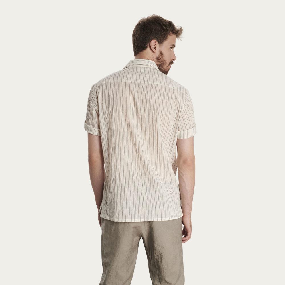 Soft Japanese Fabric Short Sleeve Shirt  | Bombinate
