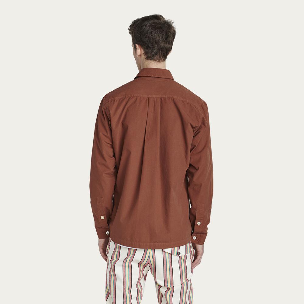Tan Overshirt  | Bombinate