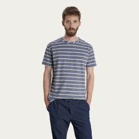 Blue Stripes Japanese T-shirt | Bombinate