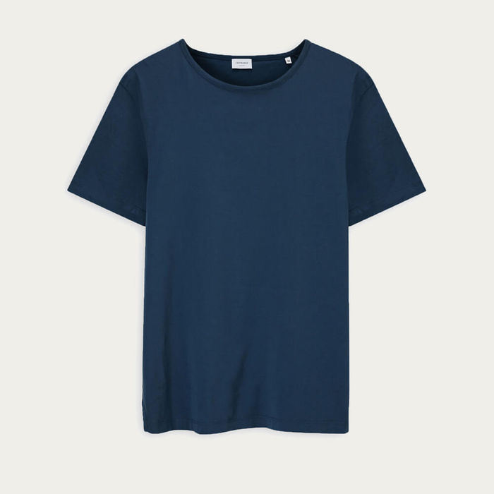 Petrol Blue The Tailored Tee | Bombinate