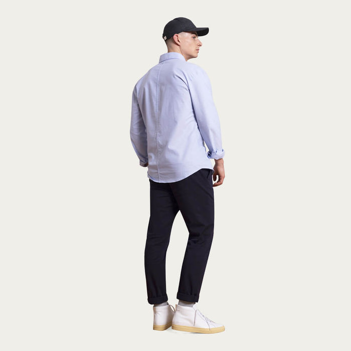 Navy The 24 Trouser Heavyweight | Bombinate