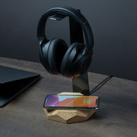Oak 2 in 1 Headphone Stand & Charger | Bombinate